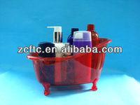 Mini plastic bathtub ,PS small bathtub container for lotion production