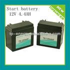 TB-12044HF12v 4.4Ah motorcycle battery China Supplier/lithium battery