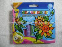NEW !!! AMOS Glass Deco 10 colours x 10.5ml