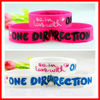 hot sale wrist band large rubber bands for sale wide silicone wrist band