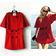 OEM 100% wool coat for women