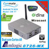 hot sale!!!cortex-A9 Amlogic 8726-MX dual core mini pc android 4.2 tv box