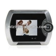 2.8 Inch TFT LCD IR Detection Digital Video Door Viewer With Photo&Video
