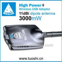 Signal transform wireless usb adapter usb wifi sky adapter high power usb wifi adapter