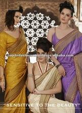 Desi Silk Border Designer Sarees