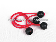 shock cord with plastic acccessory