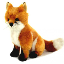 28cm soft plush toy fox