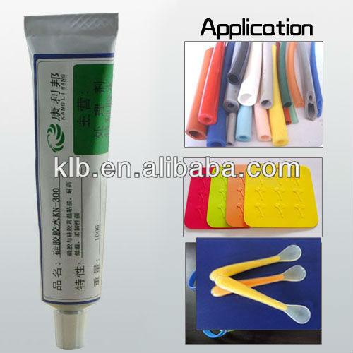 silicone bonding adhesive RTV silicon sealant waterproof adhesive for metals