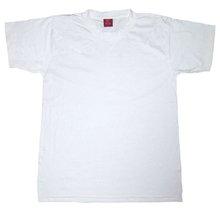 Tshirt round neck plain white