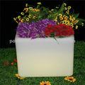 ao ar livre conduzida solar flor vaso de luz