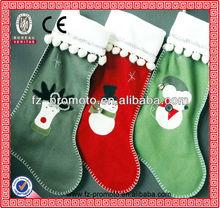 2013 hot sale Christmas socks Christmas stocking