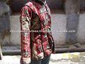 vintage sari indien kantha manteau femme
