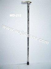 Nickel plated Walking Stick