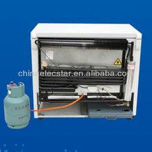 12V or 110V or 220~240V gas refrigerator/ LPG compressor fridge/kerosene chest freezer