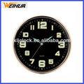 nuevo estilo decorativo reloj iluminadas