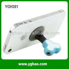 Applicable in iphone/ipod/mp3/mp4 multifunction earphone splitter