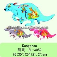 Kangaroo shape china wholesale balloons