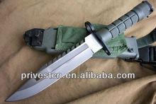 PK-5124 professional fixed blade military cambat knives with sheath