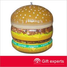 popular 2013 personalizado hamberger inflable de juguete