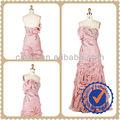 2014 rosa de la alta calidad excepcional y asequible nuevo estilo del hombro elegante de la flor de la colmena de la noche vestidos y de la boda