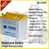 high power electric motorcycle auto batteries/ dry battery manufacture in china