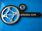 1045# or 1023#high quality moto chain and sprocket kits for Suzuki/motorcycle spare parts