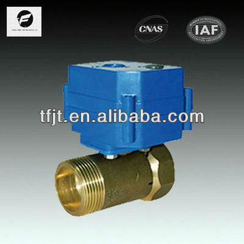 electric water flow control valve 15mm for water equipment