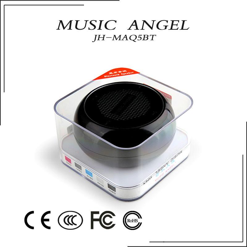 Rich bass bluetooth portable speaker view speaker music angel