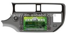 Hot !Car DVD/VCD/CD/MP4/MP3/CD-R/CD RW player with GPS resolution 800*480 for CD-K023 KIA K3 / Kia RIO 2012
