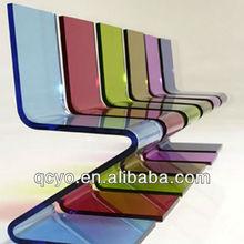 Hot sale clear acrylic z chair