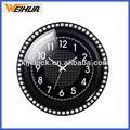Crystal relógio de parede/relógio analógico/antigo relógio de quartzo