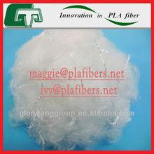 bicomponent pla fiber, 2Dx38mm pla fiber as material of teabag filter nonwoven
