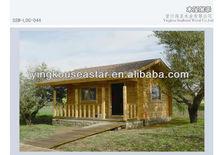 log cabin garage LOG-044