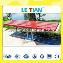 wood plastic composite park bench for sale LT-2120L