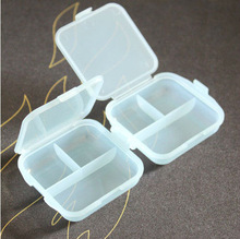 Chewing gum kit portable drug storage box candy color small tablet pill boxes
