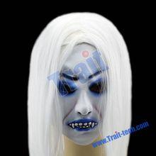 Horrible With Hair Mask for Halloween Costume Ball halloween skull masks