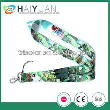 Personalised heat transfer printing jeweled lanyard