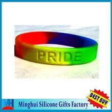 Gay PRIDE Rainbow Bracelet