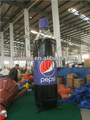 Publicidad inflable inflable botella de pepsi/productos publicitarios inflables
