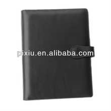wholesale custom portfolio A5 size leather notebook cover