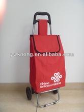 Easy carry foldable shopping trolley bag,ladies trolley tote bag-GW52