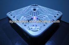 Water Jets luxury spa bathtub /Outdoor Hottub with underwater lighting --S800