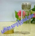 10 ml ampollas vial de vidrio con tapón y la tapa