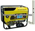Usage domestique avespeed d'essence. gpl et gaz naturel 5kw génératrice à essence portable