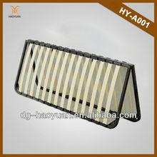 Folding Type Wood Slats Bed Bases slatted bed wholesale