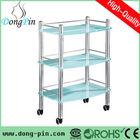 discount hall trolleys glass trolley cart