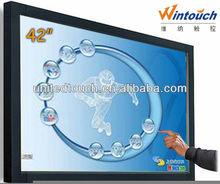 "42"" industrial lcd monitor used outside door advertising digital monitor"