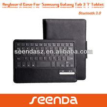 Black 7 inch keyboard case for Samsung Tab 3
