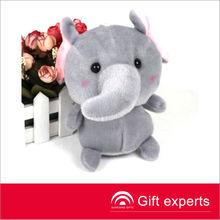 Cheapest Fashional Style Stuffed Plush Elephant Toy Gifts