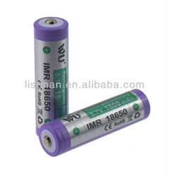 18650 li ion battery 1800mAh IMR battery 3.7v cylinder rechargeable battery